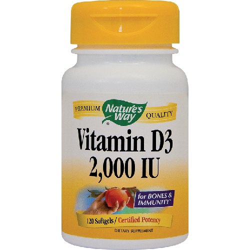 Vitamin D3 2000UI (adulti) 120cps Secom