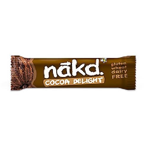 Baton Nakd Raw-Vegan cu Cacao (Fara Gluten) 35g