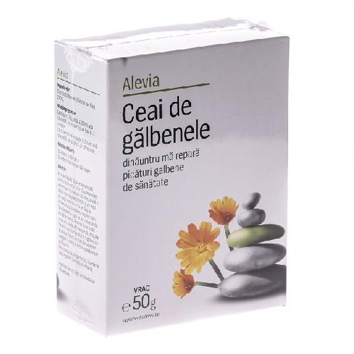 Ceai De Galbenele 50gr Alevia