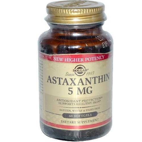Astaxanthin 5mg 30caps Solgar