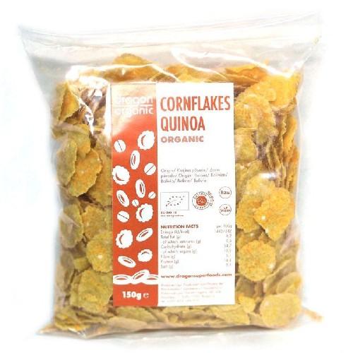 Fulgi De Porumb Cu Quinoa Bio 150gr Dragon Superfo