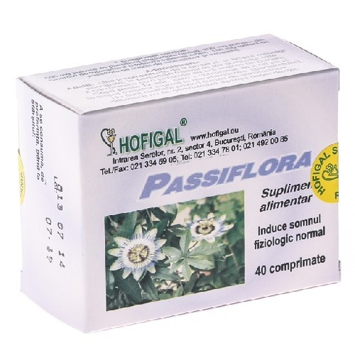 Passiflora 40cpr Hofigal