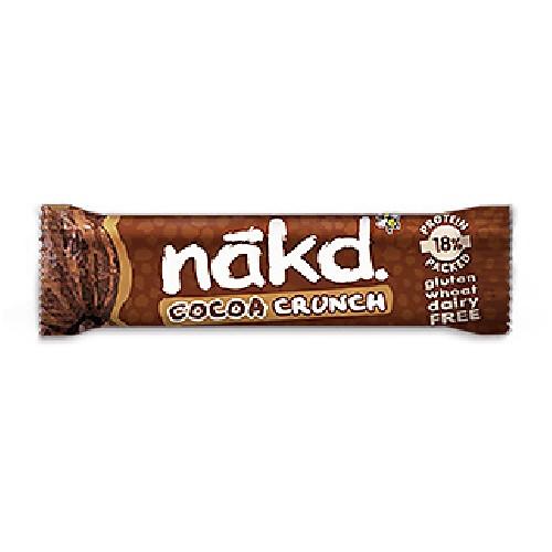 Baton Nakd Raw-Vegan cu Cacao si Proteine (Fara Gluten) 30g