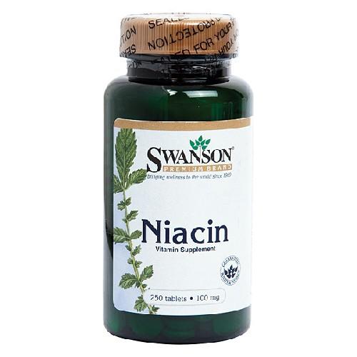 Niacina (Vitamina B3) 100mg 250cps Swanson