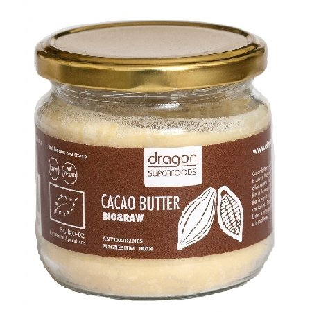 Unt De Cacao Raw Eco 100gr Dragon Superfoods