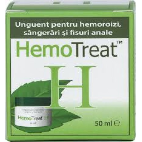 Hemotreat pentru Hemoroizi 50ml Global Treat