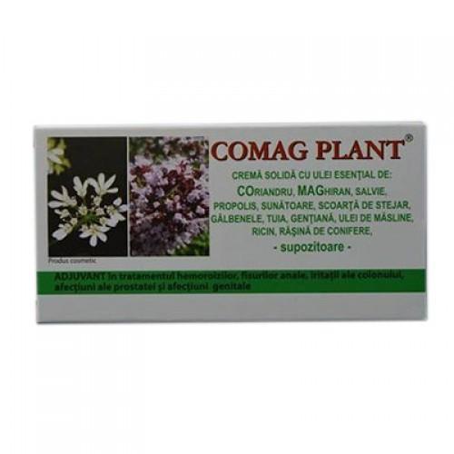 Comag Plant Crema Solida (supozitoare) 10x1,5gr Elzin Plant