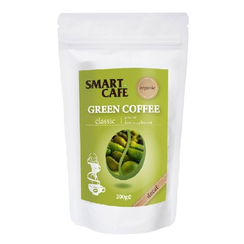 Cafea Verde Macinata Decofeinizata Bio 200gr Dragon Superfoods