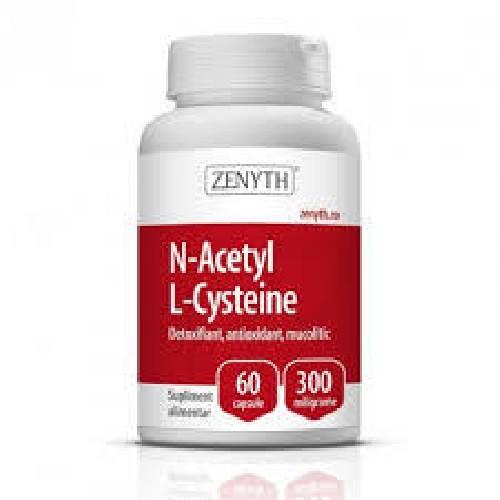 N-Acetyl L-Cysteine 60cps Zenyth