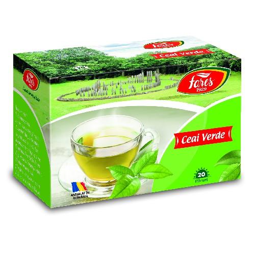 Ceai Verde 20plicuri Fares