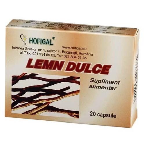 Lemn Dulce 20cps Hofigal