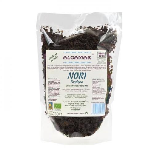 Alge Marine Nori Flakes Bio 100gr Algamar