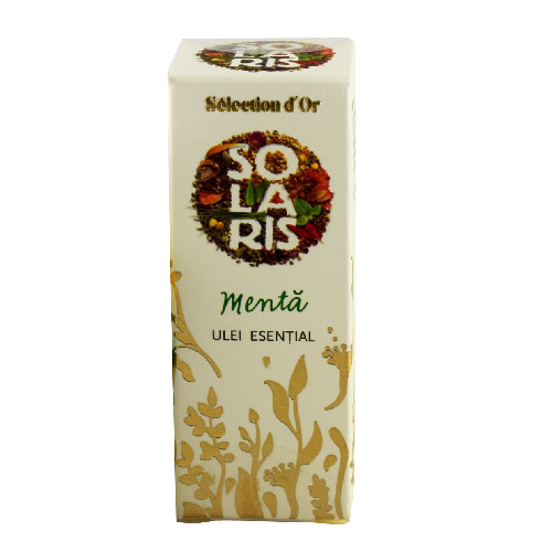 Ulei Esential de Menta Selection d`Or Premium 5ml Solaris