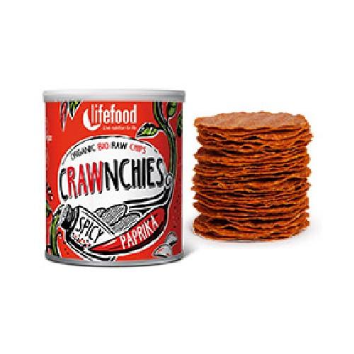 Chips Crawnchies Cu Boia Spicy Raw Bio 30gr Lifefood