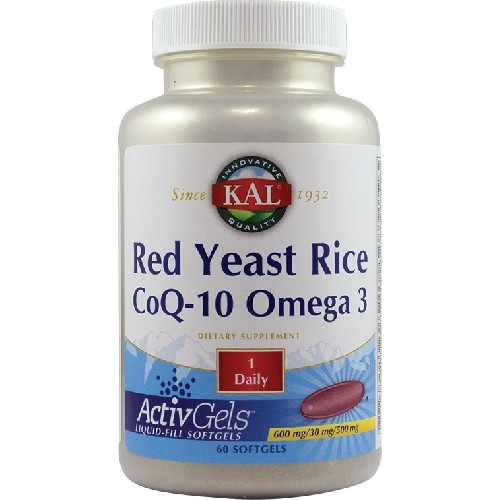 Red Yeast Rice CoQ-10 Omega 3 60cps Secom