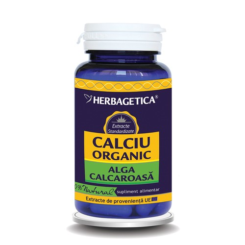 Calciu Organic 60cps Herbagetica