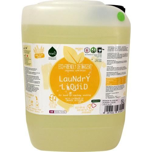 Detergent Eco Lichid pt Rufe Albe si Colorate cu Portocale 5l
