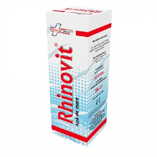 Rhinovit Spray Cu Apa De Mare 30ml Farma Class