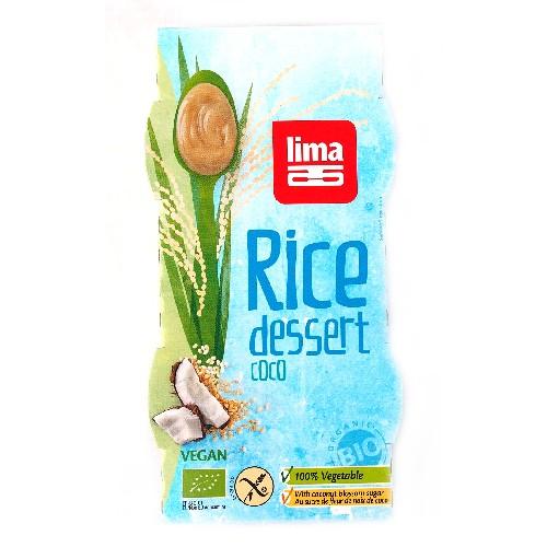 Desert Din Orez Cu Cocos Bio 2x100gr Lima