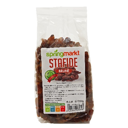 Stafide brune 250gr