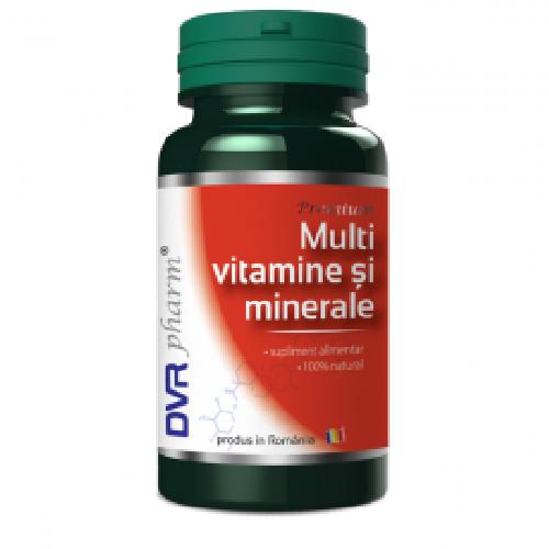 DVR Multivitamine si Minerale 60cps
