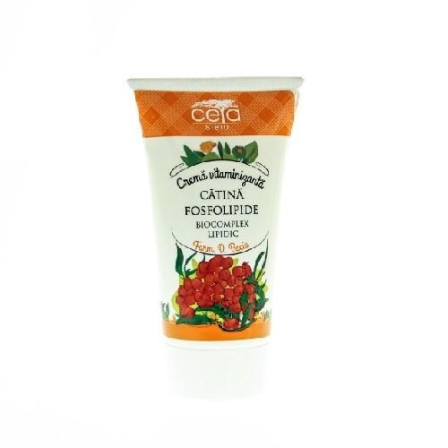 Crema Vitaminizanta cu Catina & Fosfolipide 50ml Ceta