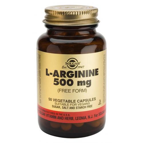 L-Arginina 500mg 50cps Solgar