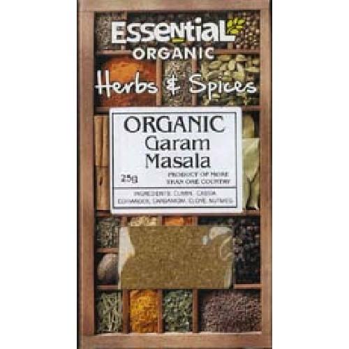 Garam Masala Bio 25gr Essential