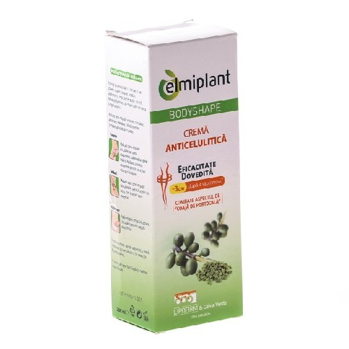 Bodyshape Crema Anticelulitica 200ml Elmiplant