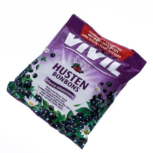 Vivil Coacaze Negre&vitamina C Fara Zahar 60gr