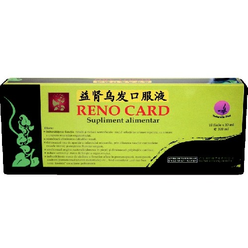 Reno Card 10filole x 10ml Naturalia Diet