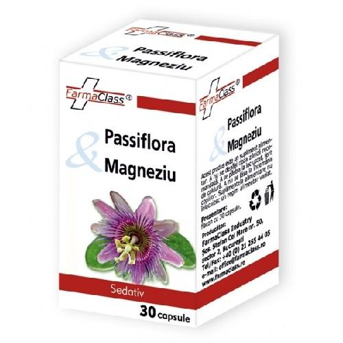 Passiflora & Magneziu 30cps Farma Class