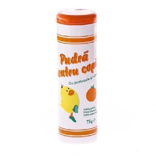 Pudra Pentru Copii Cu Portocale Si Catina 75gr Mebra