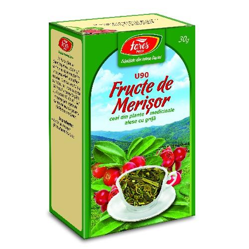 Ceai din Fructe de Merisor 30gr Fares