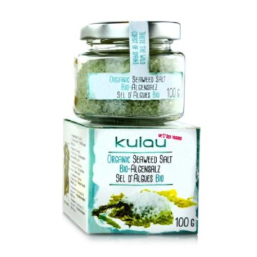 Condiment Sare de Mare cu Alge Marine Bio 100gr Kulau