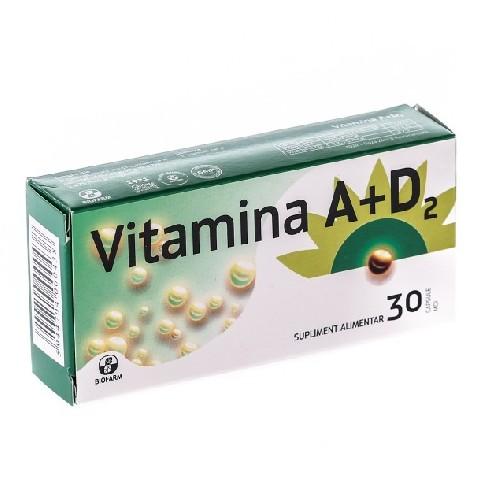 Vitamina A+d2 30cps Biofarm