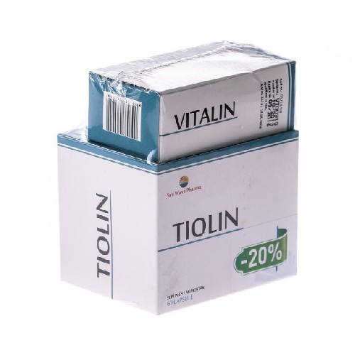 Pachet Neuropatie (tiolin 60cps + Vitalin 30cps) Sunwave
