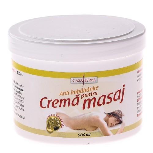 Crema Masaj Anti-imbatranire + Omega 6 500ml Casa