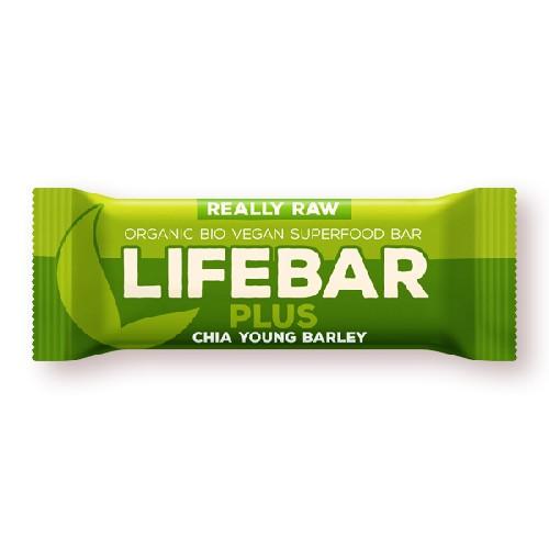 Baton cu Chia si Orz Verde Raw Bio 47gr Lifefood