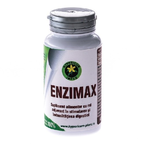 Enzimax 490mg 60cps Hypericum
