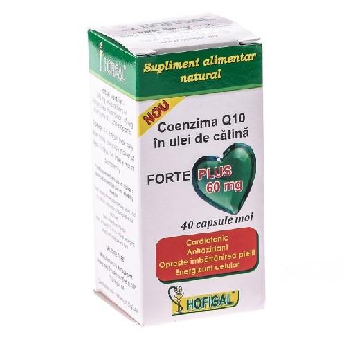 Coenzima Q10 Catina Forte 60mg 40cps Hofigal