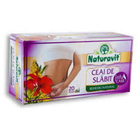 Ceai de Slabit Naturavit 20dz