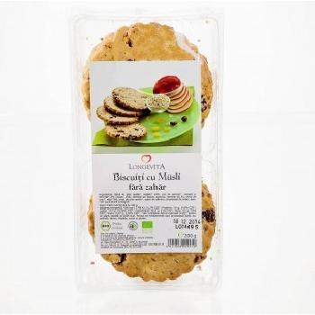 Biscuiti  Eco Musli Fara Zahar Longevita