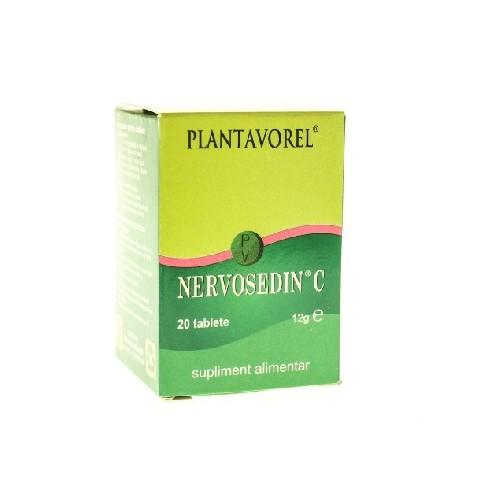 Nervosedin C 20tablete Plantavorel