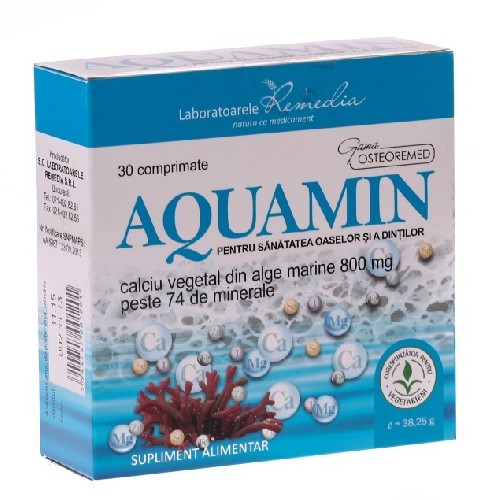 Aquamin 30cpr Remedia