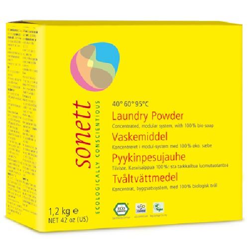 Detergent Ecologic Praf praf Rufe 1,2kg Sonett