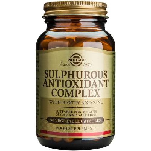 Sulphurous Antioxidant Complex 90cps Solgar