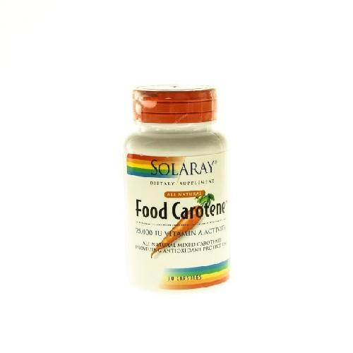 Food Carotene 25000ui 30cps Secom