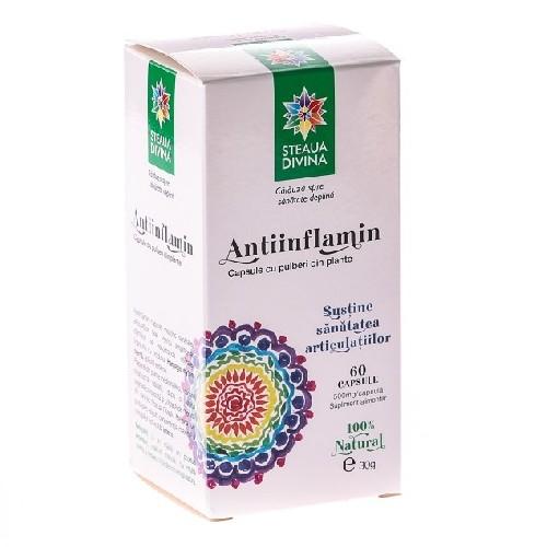 Antiinflamin 500mg 60cps Steaua Divina
