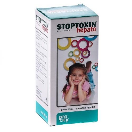Stoptoxin Hepato Sirop 150ml Fiterman